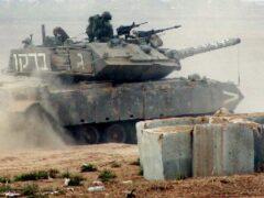 Сирийские войска напали на конвой недалеко от Ливана