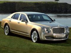 Bentley выпустил «прощальный» седан Mulsanne