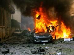 В пригороде Бейрута взорванный автомобиль ранил 15 человек