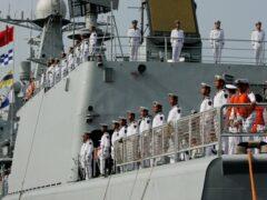 Россия и Китай проводят совместные учения на море