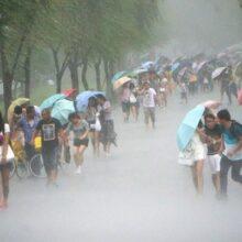 Начался отсчет жертв тайфуна в Китае: 14 человек