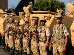 15 египетских солдат погибли в ДТП, 40 получили травмы