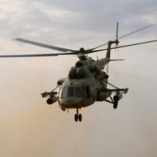 В районе крушения вертолета Ми-8 обнаружены тела погибших
