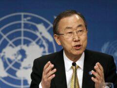 Пан Ги Мун призвал закончить разговоры о войне и сесть за стол переговоров