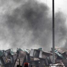 Число погибших на складе в Китае превысило 100 человек