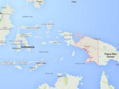 В Восточной Индонезии разбился самолет с пассажирами