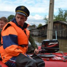 В Приморье из-за паводка передано экстренное предупреждение