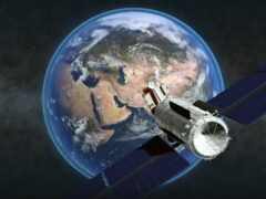 Космические спутники военного назначения выведены на орбиты