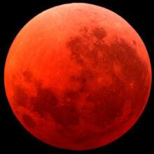 Жители планеты Земля увидят «кровавую Луну»