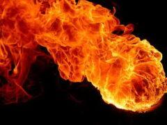 Бангкок взбудоражил огненный шар в небе