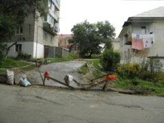В Приморье жители ремонтируют дороги за свои средства