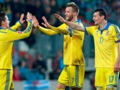 Сборная Украины будет пробиваться на Евро-2016 через раунд плей-офф