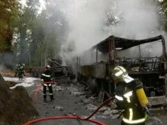 Во Франции в крупной аварии с участием автобуса погибли 42 человека