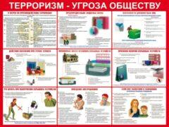 В Москве начали расклеивать антитеррористические памятки