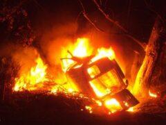 В Тверской области три человека погибли после ДТП со «скорой» и пожара
