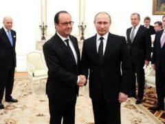 Путин и Олланд решили координировать действия в борьбе с ИГИЛ