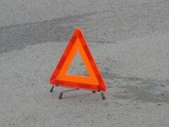 На левобережье Красноярска столкнулись три автомобиля