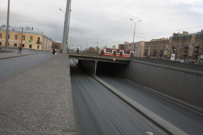 Лиговский проспект тоннель