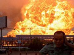 На северо-востоке Китая произошел взрыв на заводе пестицидов