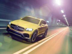 Обновленный Mercedes-Benz GLC добрался до российского рынка