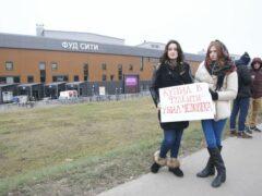 Активисты провели акцию против торговли поддельным алкоголем