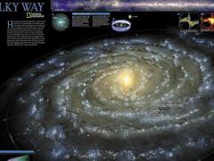 Ученые создали самую большую карту Млечного Пути