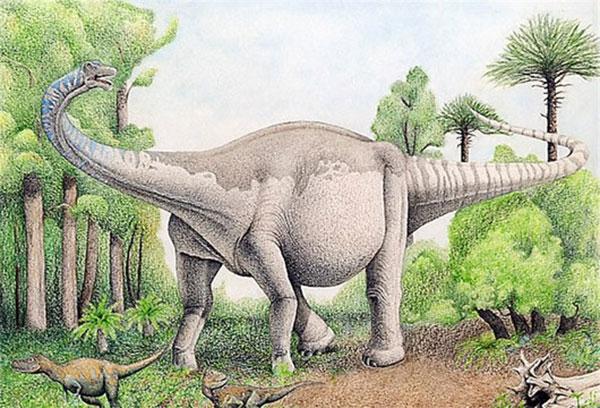 самый большой в мире сухопутный динозавр