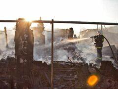 При пожаре в Омске погибли три человека
