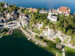 В Австрии в озере нашли чемоданы с расчлененным телом