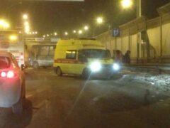 Ребенок пострадал в ДТП с маршруткой в Шушарах