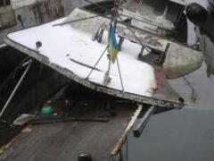 В Одессе затонула любимая яхта Брежнева