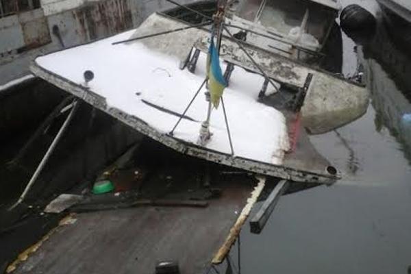 затонула яхта