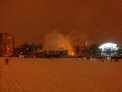 Петербург: На Светлановском проспекте горел ресторан «Серебряный век»