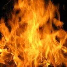 В Иванове горел автомобиль