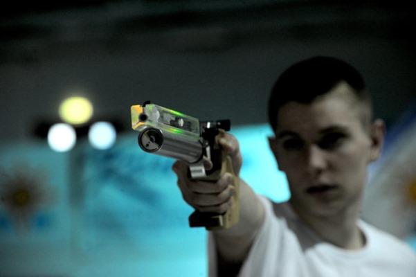 подросток оружие