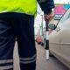 В Орске нарушитель на «ВАЗ» врезался в машину ДПС