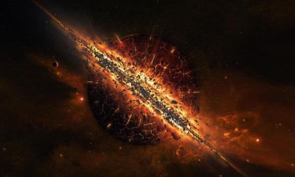 взрыв Вселенной