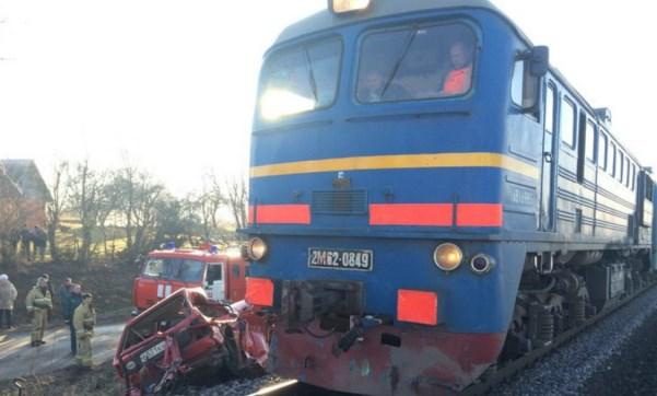 ДТП поезд авто