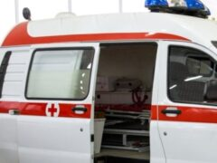 В Саратове иномарка столкнулась с пассажирским автобусом