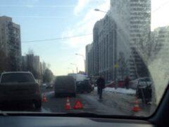 Двое детей пострадали в ДТП в Петербурге