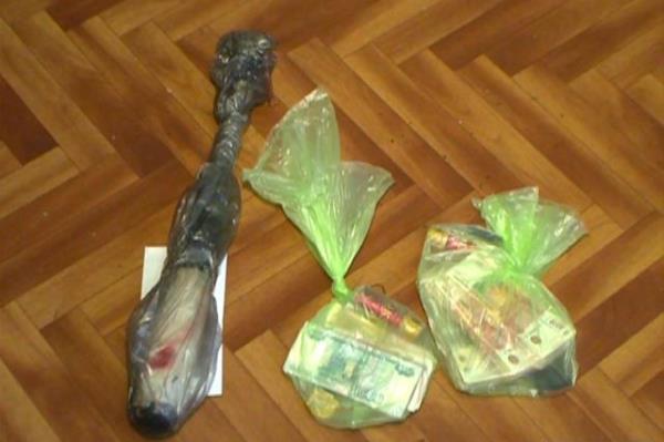 бита деньги ограбление