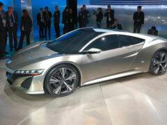 Компания Honda опубликовала цены на суперкар NSX
