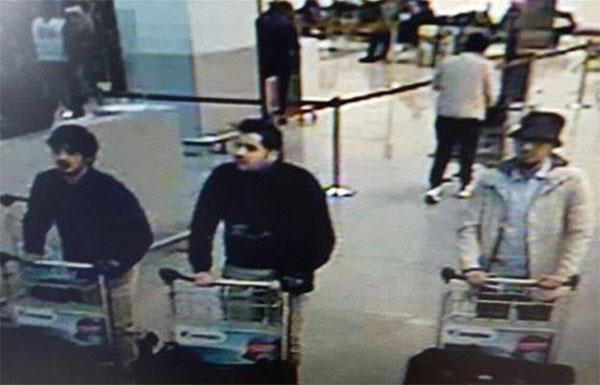террористы в Брюсселе