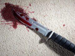 Житель Димитровограда ударил ножом родного сына