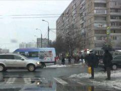 На севере Москвы маршрутка сбила пешехода