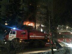 Четыре человека погибли при пожаре в подмосковной квартире