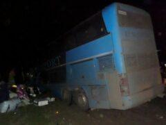Более 10 человек пострадали в результате ДТП с автобусом в Дагестане