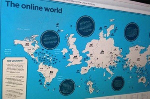 карта доменов