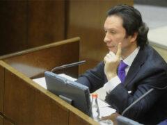 Сенатор Кавджарадзе оскандалился