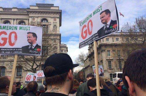 Лондон митинг